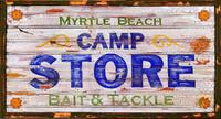 Vintage Signs - Myrtle Beach Camp Store