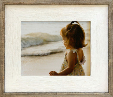 Reclaimed Whitewash Frame