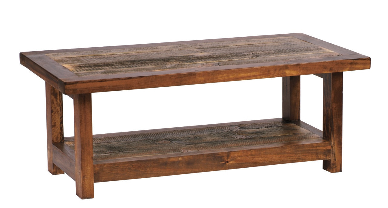 reclaimed wood coffee table rustic barnwood 48x24. Black Bedroom Furniture Sets. Home Design Ideas