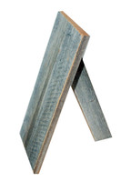 Small Barnwood Easel Stand  - For Shelf Display of Smaller Frames