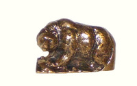 Walking Bear Cabinet Hardware Knob