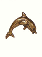 Dolphin #2 Cabinet Hardware Knob