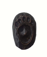 Single Bear Track Cabinet Hardware Knob - Left Facing