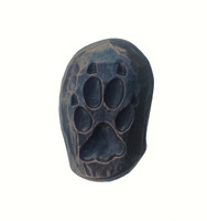Single Wolf Track Cabinet Hardware Knob - Right Facing