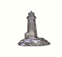 Stand Alone Light House Cabinet Hardware Knob