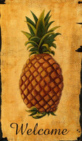 Vintage Pineapple Welcome Sign