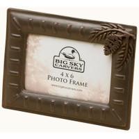 Pinecone 4x6 Photo Frame