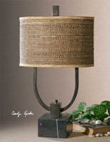 Uttermost Stabina Metal Table Lamp