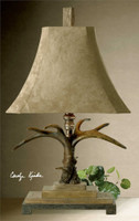 Uttermost Stag Horn Table Lamp