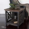 Uttermost Spiro Reclaimed Wood End Table
