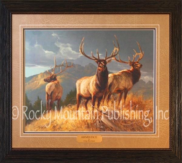 Wildlife Art Greg Beecham Armistice Framed Print