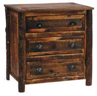 3 Drawer Rustic Chest - Reclaimed Barnwood