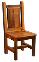 Reclaimed Wood Dining Side Chair
