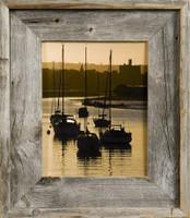 24x30 Barnwood Frame, Medium Width 2.75 inch Lighthouse Series