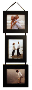 8x10 Collage Picture Frame Set- Black