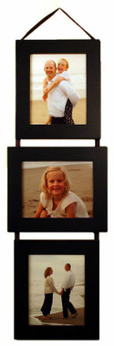 8x10 Collage Picture Frame Set - Black