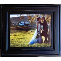 Rustic Photo Frames, Hand-distressed black frame, 8x10
