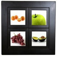 Small Windowpane Frame, 16.5 x 16.5 Inches With 5x5 Panes