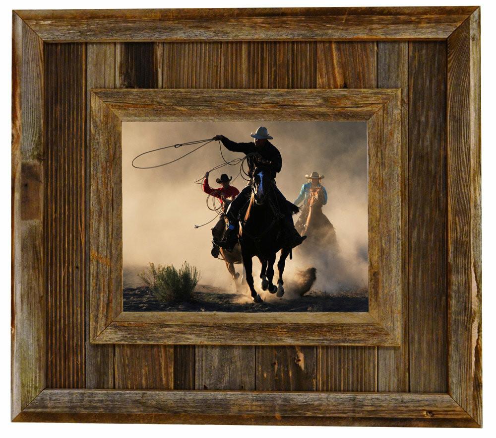 Barnwood Frames Durango 8x10 Reclaimed Wood