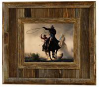 Durango Rustic Barnwood Picture Frame, 18x24
