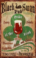 Vintage Irish Pub Sign