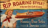Vintage Chris Craft Sign