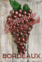 Vintage Grapes Sign