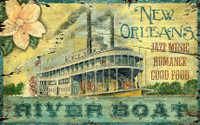 Vintage Delta Queen Sign