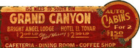 Vintage Grand Canyon Sign