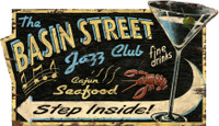 Vintage Jazz Club Sign