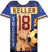 Vintage Soccer Jersey Sign