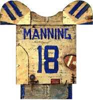 Vintage Football Jersey Sign
