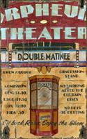 Vintagae Orpheum Movie Theater Sign