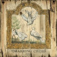 Vintage Doves Sign