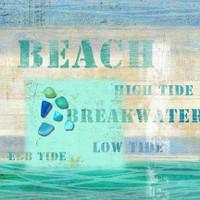 Vintage Beach Sign