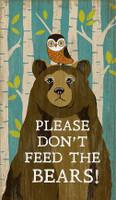 Vintage Bears Sign