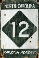 Vintage Hwy 12 Sign