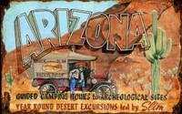 Vintage Arizona Slim Sign