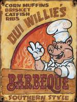 Vintage BBQ Sign
