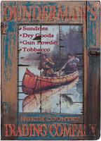 Vintage Dundermans Sign