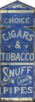 Vintage Pipes Sign