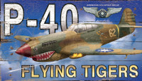 Vintage Flying Tiger Sign