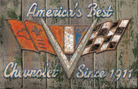 Vintage Americas Best Sign