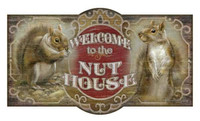 Vintage Nut House Sign