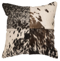 Four Sections Speckled Hide Pillow