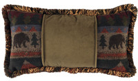 Cabin Bear 14x26 Pillow