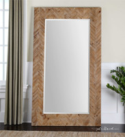 Uttermost Demetria Oversized Wooden Mirror