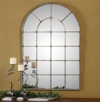 Uttermost Barwell Arch Window Mirror