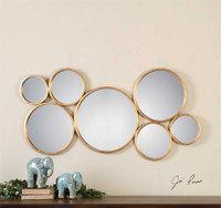 Uttermost Kanna Gold Wall Mirror