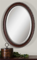 Uttermost Montrose Oval Silver Mirror